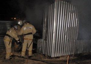Фото возгорания на Челноках в Феодосии #6160