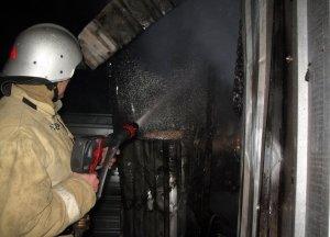 Фото возгорания на Челноках в Феодосии #6162