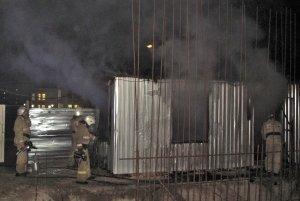 Фото возгорания на Челноках в Феодосии #6158