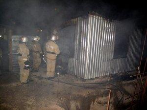 Фото возгорания на Челноках в Феодосии #6152