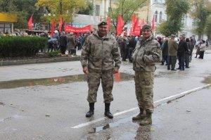 Фото митинга и демонстрации в честь 100-летия Великого Октября в Феодосии #5666