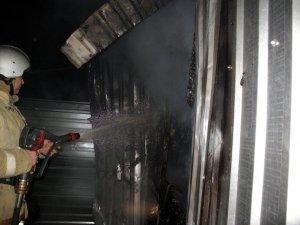 Фото возгорания на Челноках в Феодосии #6161