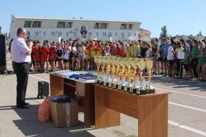 Фото II турнира по многоборью среди школьников Феодосии #3846