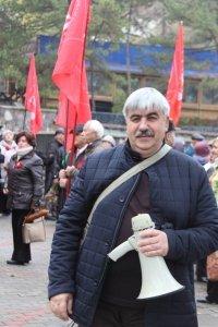 Фото митинга и демонстрации в честь 100-летия Великого Октября в Феодосии #5663