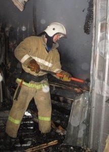 Фото возгорания на Челноках в Феодосии #6149