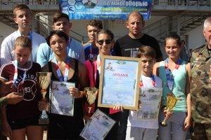 Фото II турнира по многоборью среди школьников Феодосии #3834