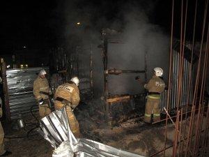 Фото возгорания на Челноках в Феодосии #6159
