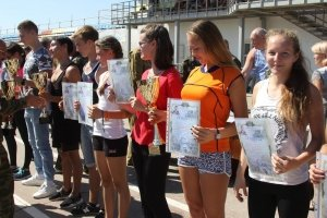 Фото II турнира по многоборью среди школьников Феодосии #3825