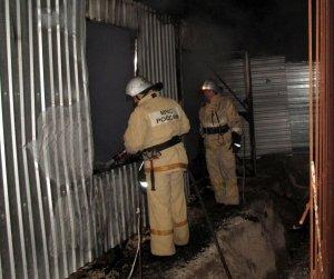 Фото возгорания на Челноках в Феодосии #6151