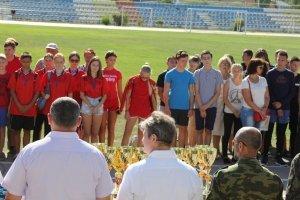 Фото II турнира по многоборью среди школьников Феодосии #3837