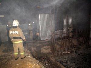 Фото возгорания на Челноках в Феодосии #6155