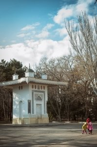 Фото фонтана Айвазовского в Феодосии #6311