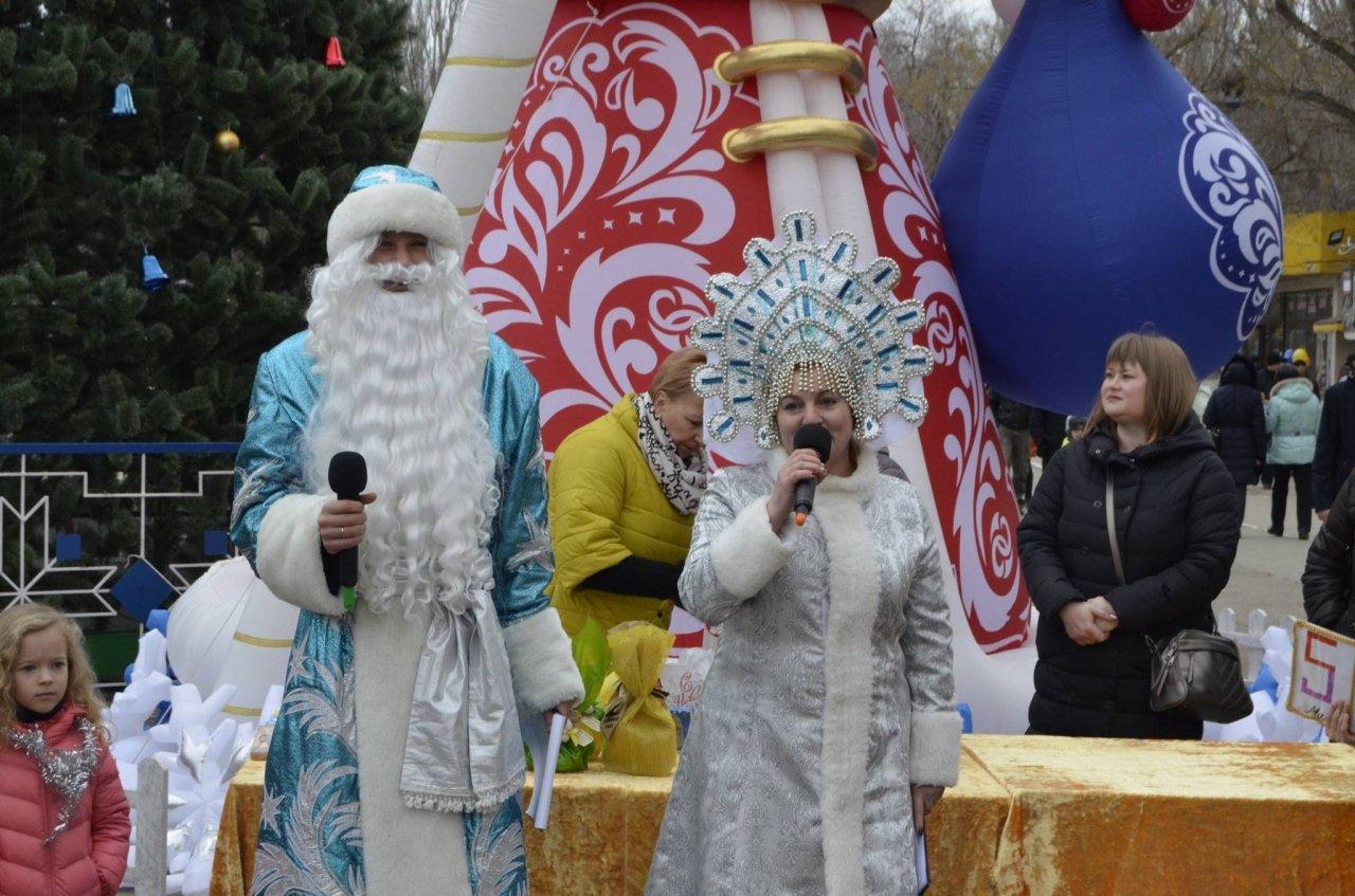 Акция «Тайный Дед Мороз« 2018 в Феодосии #6532
