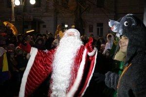 Фото торжественного открытия новогодней ёлки в Феодосии #6305