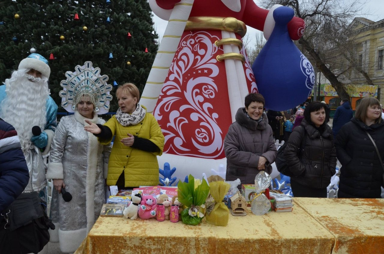 Акция «Тайный Дед Мороз« 2018 в Феодосии #6536