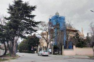Дача Стамболи, Феодосия. Фото реставрации #6506