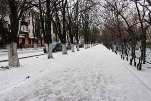 Первый снег. Феодосия, 2018 #6606