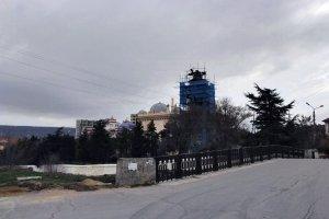 Дача Стамболи, Феодосия. Фото реставрации #6501