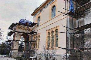 Дача Стамболи, Феодосия. Фото реставрации #6504